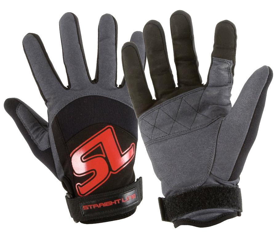 Перчатки Straight Line Performance Glove BLK-RED
