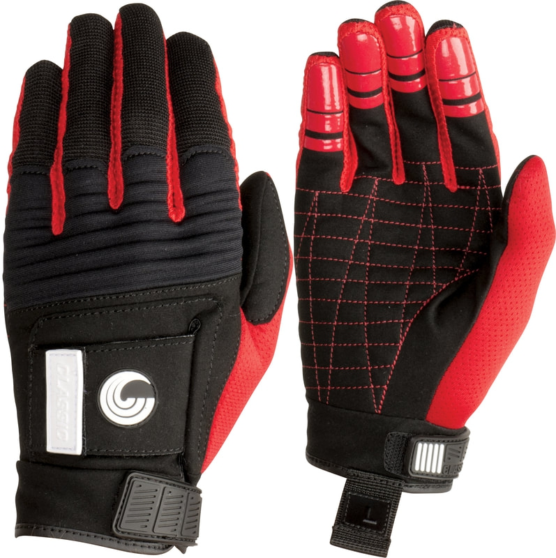 Перчатки Connelly MENS CLASSIC GLOVE Black-Red S18