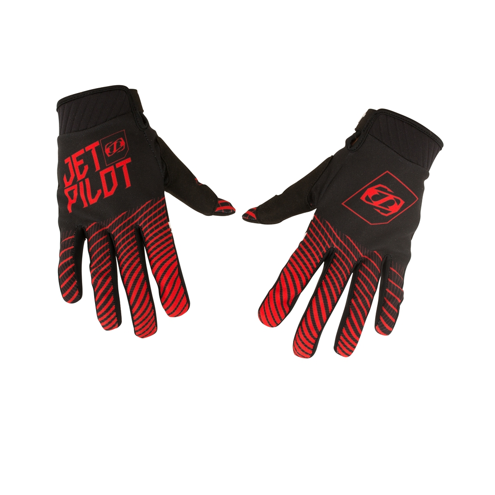 Перчатки Jetpilot Matrix Pro Super Lite Glove Full Finger Black-Red S18
