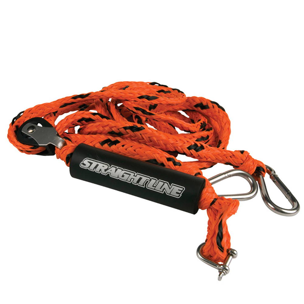 Поводок для мотора Straight Line Deluxe 12 HD Tow Rope Roller Harness S19