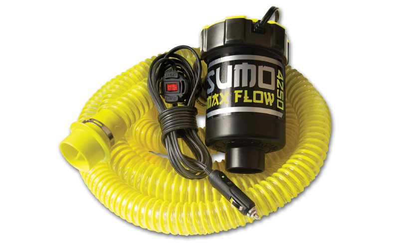 Шланг Straight Line SUMO MAX FLOW PUMP HOSE Black-Yellow (BLY)