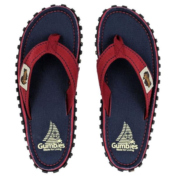 Шлепки унисекс Gumbies Flip-Flops NAVY COAST S20